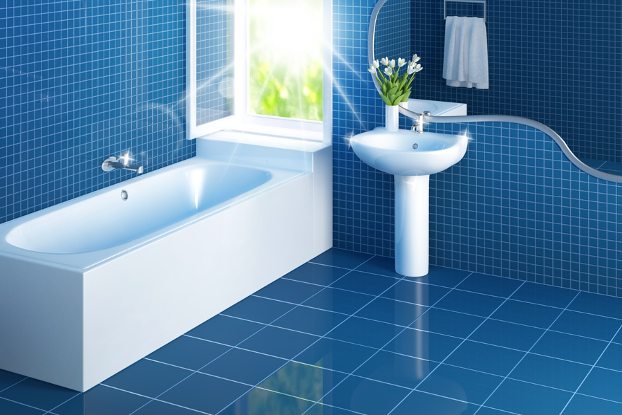 How To Clean Your Bathroom Tiles
